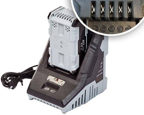 GD672 batterij oplader type II